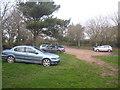 SX1051 : Car park at Coombe Farm by Rod Allday