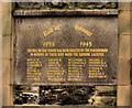 J3475 : St Paul's war memorial, Belfast by Albert Bridge