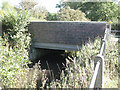SP1767 : Henley Road bridges Tapster Brook: 1 by Robin Stott