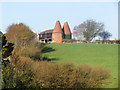 TQ8316 : Oast House at Doleham Farm, Doleham Lane, Westfield by Oast House Archive
