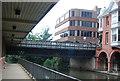 SU9949 : A31 bridge, River Wey by N Chadwick