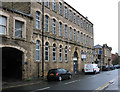 SE2627 : Morley - factory and library on Commercial Street by Dave Bevis