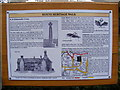 TM1876 : Hoxne Heritage Walk Sign by Adrian Cable