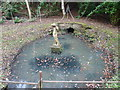 TQ0636 : Small pond at the base of Vachery Pond by Dave Spicer