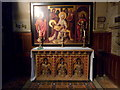 TR3764 : Altar in the Pugin Chapel, St. Augustine's Abbey Church, Ramsgate by pam fray
