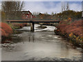 SD7806 : River Irwell, Pilkington Way Bridge by David Dixon