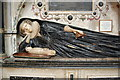 SO8318 : Elizabeth Williams and Baby, Gloucester Cathedral by Julian P Guffogg