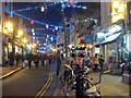 TQ3104 : Bond Street Christmas lights by Oast House Archive