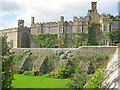SK2366 : Garden at Haddon Hall - 3 by Trevor Rickard