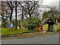 SD9804 : Christ Church and Lychgate by David Dixon