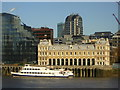 TQ3380 : Old Billingsgate Market, from across the Thames by Christopher Hilton
