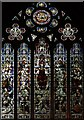 TQ2677 : St Andrew, Park Walk - Stained glass window by John Salmon