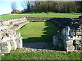 TQ4778 : The remains of the chapter house at Lesnes Abbey by Ian Yarham