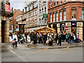 SJ8398 : King Street Christmas Market by David Dixon