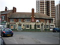 SE2832 : The Crown Inn on Tong Road, Leeds by Ian S
