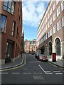 TQ2979 : Looking from Tufton Street into Little Smith Street by Basher Eyre
