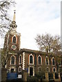 TQ3579 : St. Mary's Church, Rotherhithe (3) by Mike Quinn