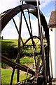 SO7191 : The waterwheel at Daniels Mill by Steve Daniels