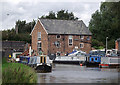 SJ6874 : Wincham Wharf near Lostock Gralam, Cheshire by Roger  Kidd