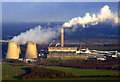SK5029 : Ratcliffe On Soar power station from the air by Thomas Nugent