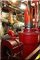 TQ4881 : Crossness Pumping Station - beam engine detail by Chris Allen