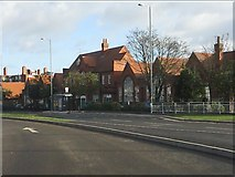 SP1285 : School on Church Road by Peter Whatley