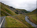 SN7974 : View north east to the Cwmystwyth lead mine by Phil Champion