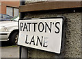 J3979 : Patton's Lane, Holywood (2) by Albert Bridge