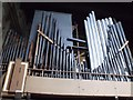 SK8039 : Rear of Organ, St Mary's church, Bottesford by J.Hannan-Briggs