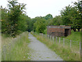 SN6968 : Dismantled railway south of Tynygraig, Ceredigion by Roger  Kidd