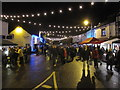 SJ8976 : Prestbury Christmas Street Party by Peter Turner