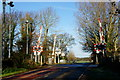 SU8904 : Drayton Lane Crossing, Oving, Sussex by Peter Trimming
