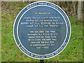 SP8129 : In memory of by Malcolm Campbell