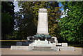TM1645 : WWI and WWII War Memorial, Christchurch Park by N Chadwick