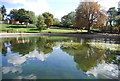 TM1645 : Round pond, Christchurch Park by Nigel Chadwick
