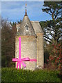 SW8339 : The water tower at Trelissick by Rod Allday