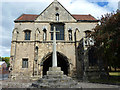 SK5878 : Priory Gatehouse by Richard Croft