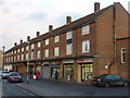 SK8289 : Gainsborough: Queensway shops by Chris Downer