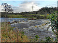 SJ9489 : Broken Weir, River Goyt by David Dixon