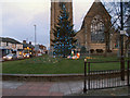 SD8510 : Christmas Tree, St Luke's Church by David Dixon