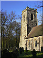 SK5721 : Prestwold Church tower by Alan Murray-Rust