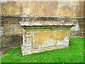 ST5312 : Chest tomb, St Michael's Churchyard by Miss Steel