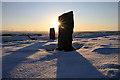 NT6136 : Sunrise on Brotherstone Hill : Week 51 winner