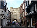 SE6052 : York: High Petergate by Chris Downer
