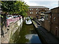 SK5879 : The Chesterfield Canal in Worksop by Colin Park