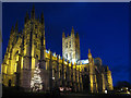 TR1557 : Canterbury Cathedral at night by Oast House Archive
