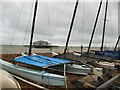 TQ3003 : Boats on Brighton Seafront by Paul Gillett