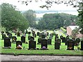 NJ7349 : Cemetery, Turriff by Richard Webb