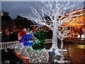 SJ8498 : Christmas Illuminations, Piccadilly Gardens by David Dixon
