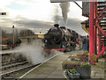SD7916 : Steam at Ramsbottom by David Dixon